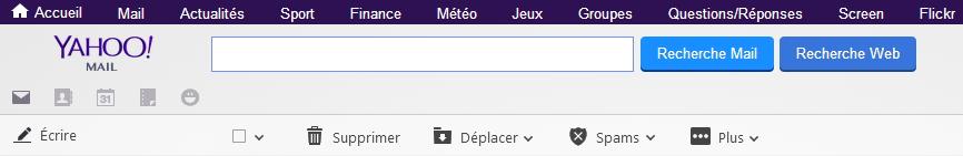 Raccourcis clavier Yahoo Mail