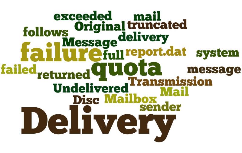 Top 10 des messages d'erreur e-mail