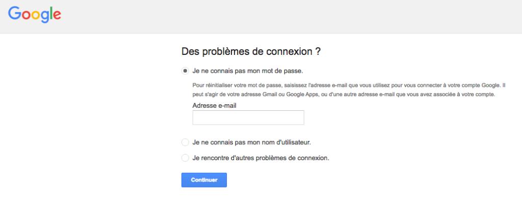 Mon compte Gmail a été piraté