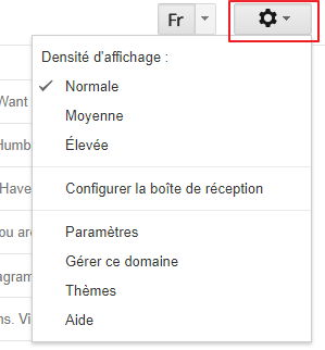 afficher les messages non lus sur Gmail