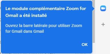 Zoom à Gmail